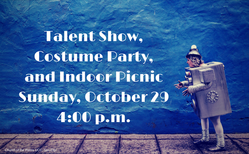 Talent Show, Costume Party, and Indoor Picnic